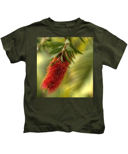 Lone Bottlebrush Kids T-Shirt