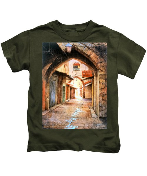 Look Who Is Coming Kids T-Shirt