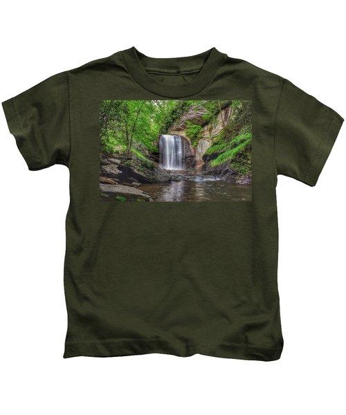 Looking Glass Falls Kids T-Shirt