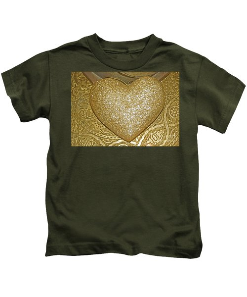 Lost My Golden Heart Kids T-Shirt
