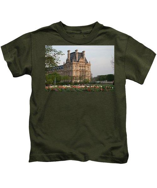 Louvre Museum Kids T-Shirt