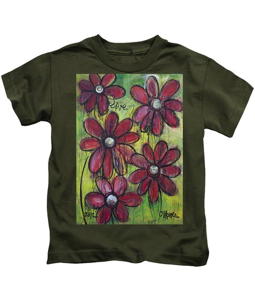 Love For Five Daisies Kids T-Shirt