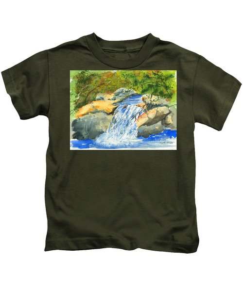 Lower Burch Creek Kids T-Shirt