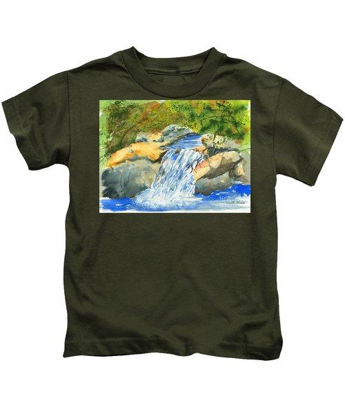 Lower Burch Creek Kids T-Shirt