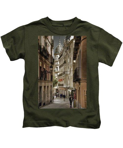 Madrid Streets Kids T-Shirt
