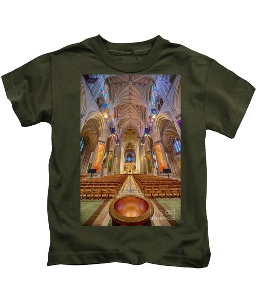 Magnificent Cathedral V Kids T-Shirt