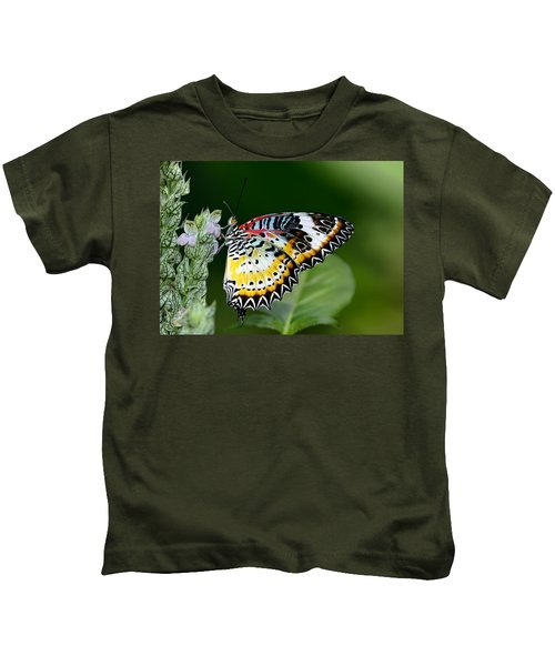 Malay Lacewing Butterfly Kids T-Shirt