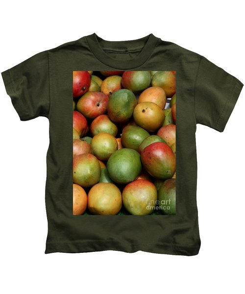 Mangoes Kids T-Shirt by Carol Groenen