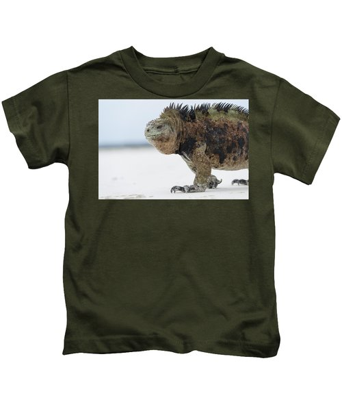 Marine Iguana Male Turtle Bay Santa Kids T-Shirt