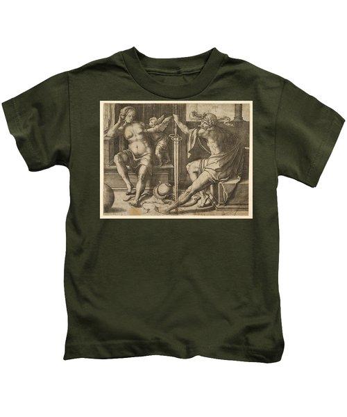 Mars Venus And Cupid Kids T-Shirt
