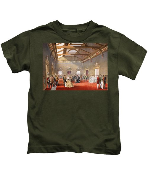 Marshalling The Procession Of The Bride Kids T-Shirt