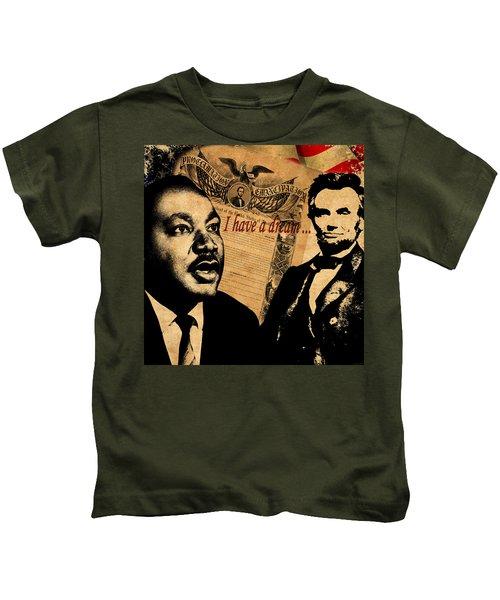 Martin Luther King Jr 2 Kids T-Shirt
