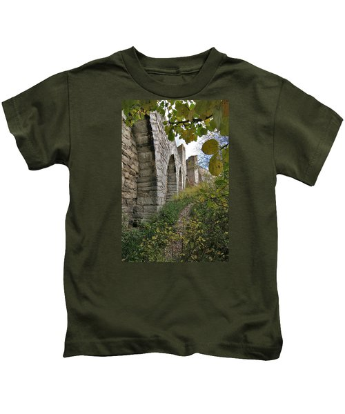 Medieval Town Wall Kids T-Shirt
