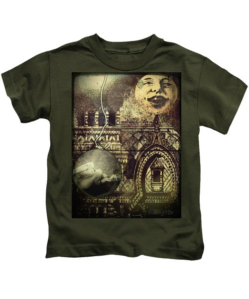 Melies Man In The Moon Kids T-Shirt