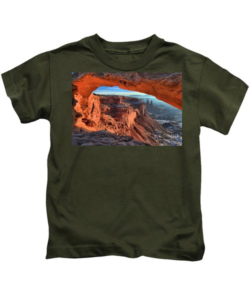 Mesa Arch Frame Kids T-Shirt