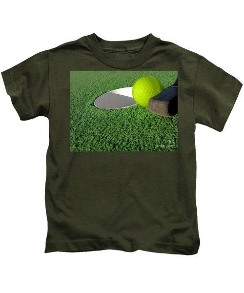Miniature Golf Kids T-Shirt