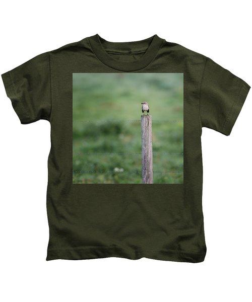Minimalism Mockingbird Kids T-Shirt by Bill Wakeley