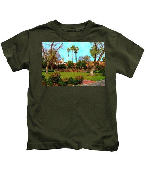 Mission San Juan Capistrano No 11 Kids T-Shirt