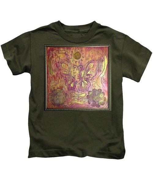 Monarch Butterfly By Alfredo Garcia Kids T-Shirt
