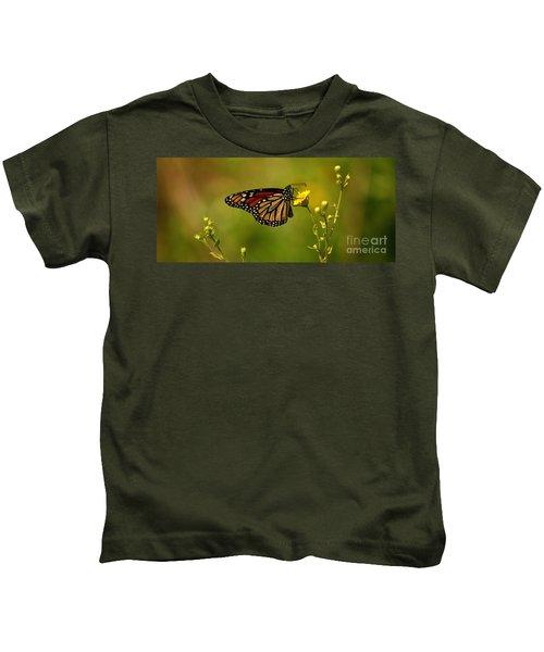 Monarch Moment Kids T-Shirt
