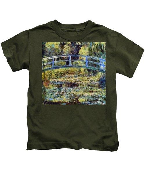 Monet's Bridge Kids T-Shirt