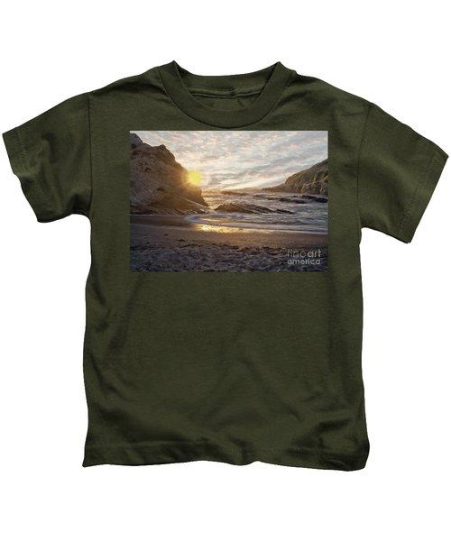 Montana De Oro Sunset II Kids T-Shirt