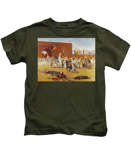 Moorish Procession Kids T-Shirt