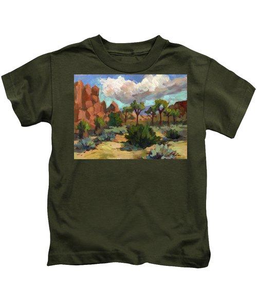 Morning At Joshua Kids T-Shirt