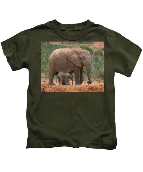 Mother And Calf Kids T-Shirt