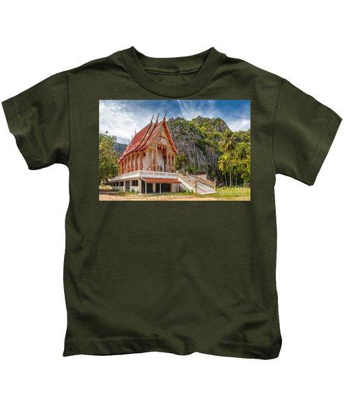 Mountain Temple Kids T-Shirt