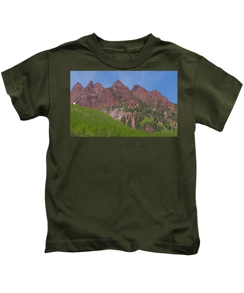 Mountaineering The Elk Range Kids T-Shirt