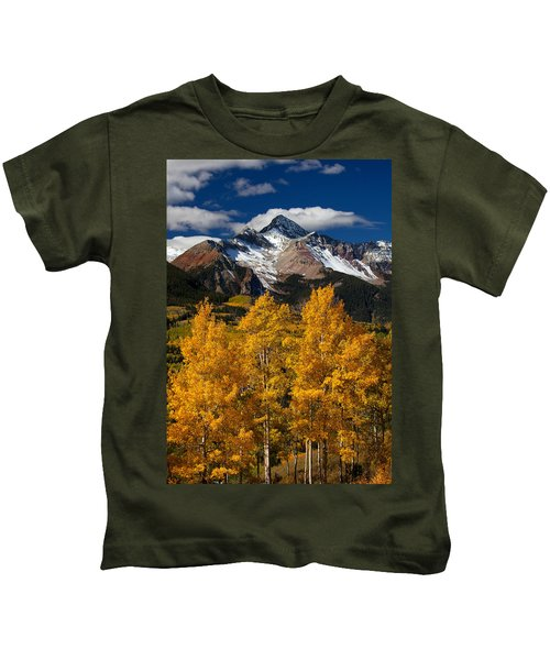 Mountainous Wonders Kids T-Shirt