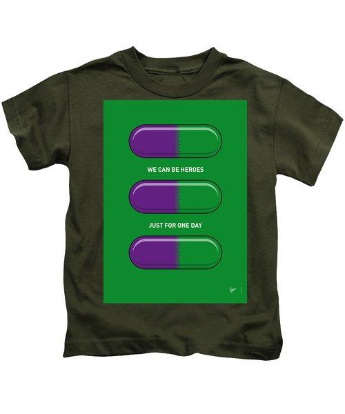 My Superhero Pills - The Hulk Kids T-Shirt