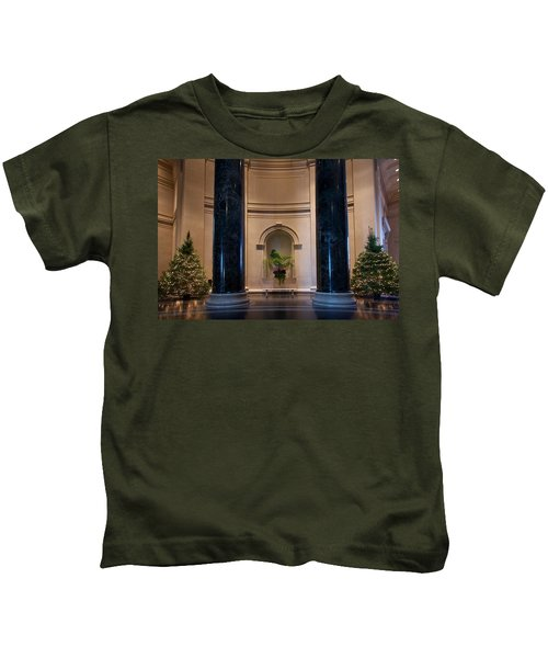 National Gallery Of Art Christmas Kids T-Shirt