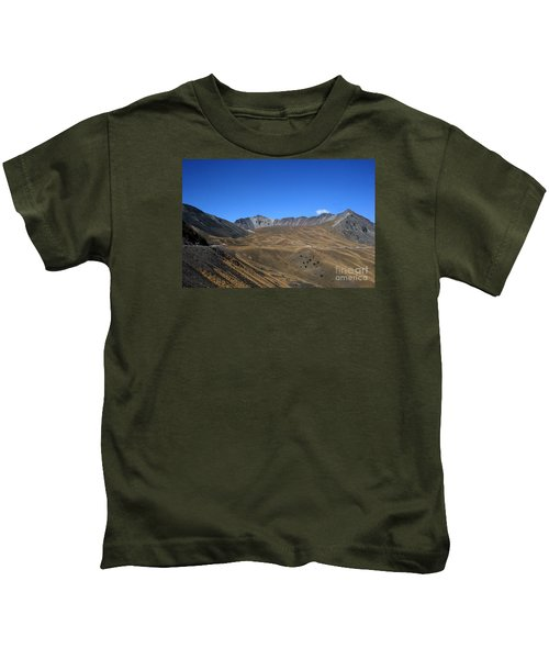 Nevado De Toluca Mexico Kids T-Shirt
