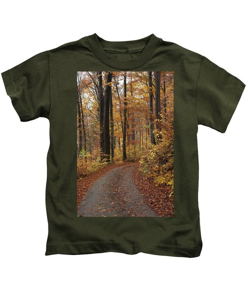 New Autumn Trails Kids T-Shirt