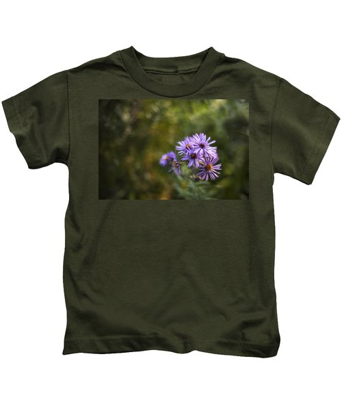 New England Asters Kids T-Shirt