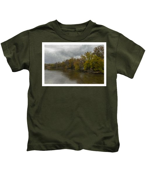 New Milford By Water Side Kids T-Shirt