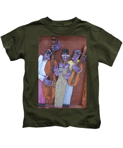 New Orleans Jazz Artwork 17 Kids T-Shirt