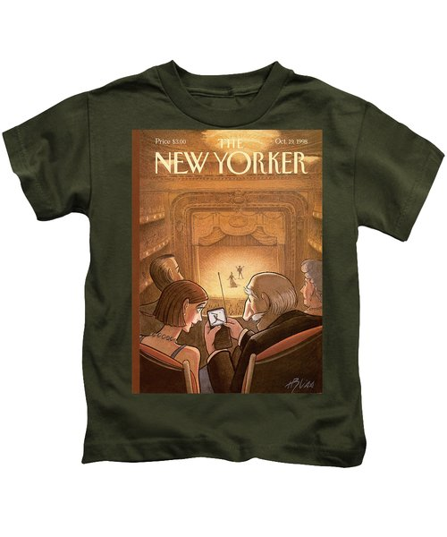 New Yorker October 19th, 1998 Kids T-Shirt