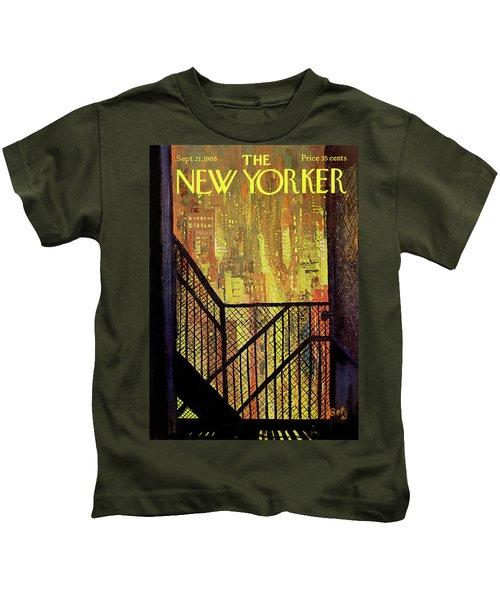 New Yorker September 21st, 1968 Kids T-Shirt