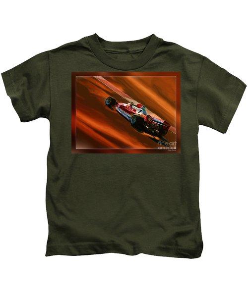 Niki Lauda's Ferrari Kids T-Shirt