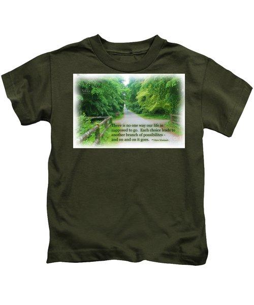 No One Way Kids T-Shirt