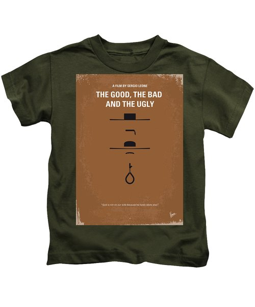 No090 My The Good The Bad The Ugly Minimal Movie Poster Kids T-Shirt