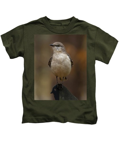 Northern Mockingbird Kids T-Shirt