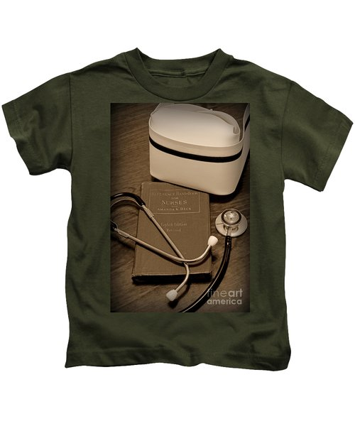Nurse - The Care Giver Kids T-Shirt