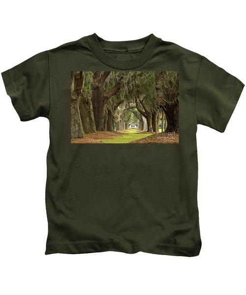 Oaks Of The Golden Isles Kids T-Shirt
