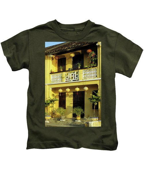 Ochre Building 01 Kids T-Shirt