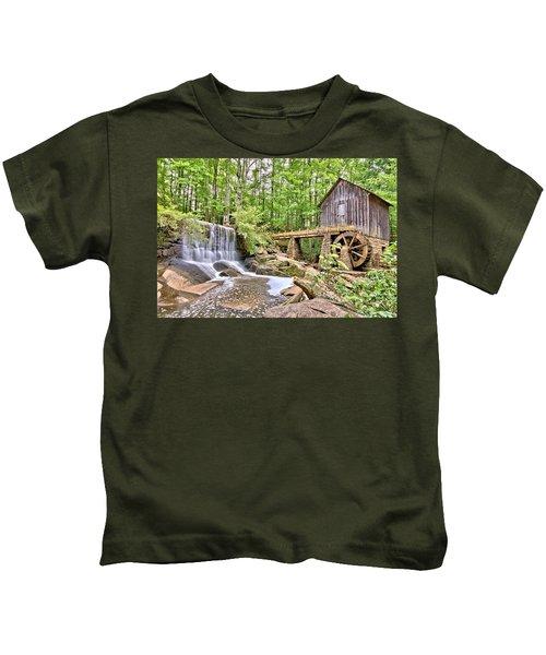 Old Lefler Grist Mill Kids T-Shirt