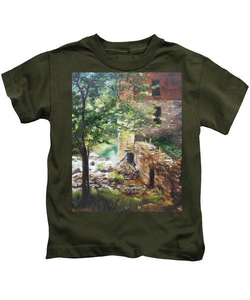 Old Mill Stream I Kids T-Shirt
